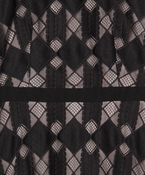 GRACE CONTINENTAL / グレースコンチネンタル ドレス | ジオメトリックレースワンピース | 詳細10
