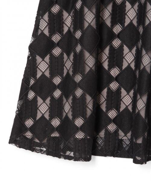 GRACE CONTINENTAL / グレースコンチネンタル ドレス | ジオメトリックレースワンピース | 詳細13