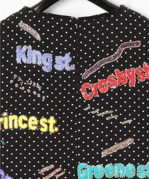 GRACE CONTINENTAL / グレースコンチネンタル ドレス | ロゴスパンワンピース | 詳細10