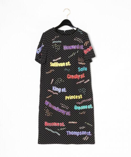 GRACE CONTINENTAL / グレースコンチネンタル ドレス | ロゴスパンワンピース | 詳細4