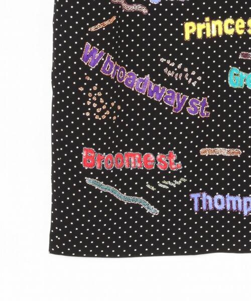 GRACE CONTINENTAL / グレースコンチネンタル ドレス | ロゴスパンワンピース | 詳細8