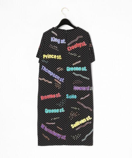 GRACE CONTINENTAL / グレースコンチネンタル ドレス | ロゴスパンワンピース | 詳細9