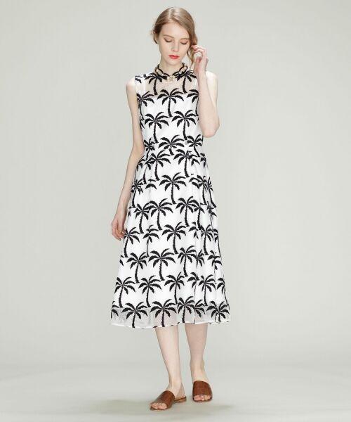 GRACE CONTINENTAL / グレースコンチネンタル ドレス | Palm tree ドレス | 詳細1