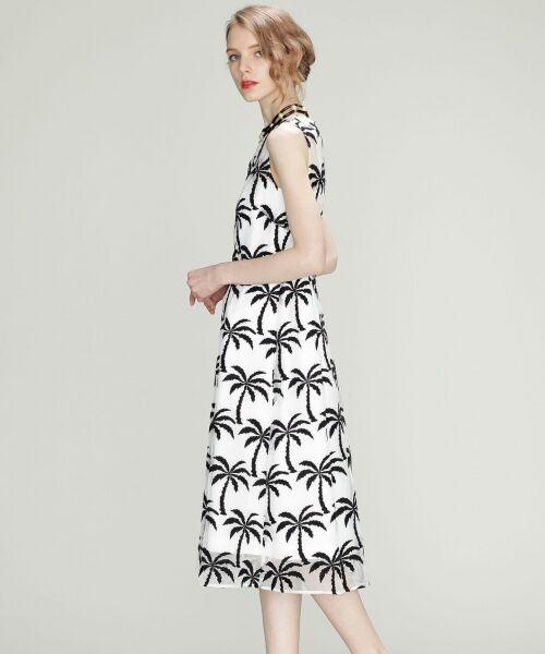 GRACE CONTINENTAL / グレースコンチネンタル ドレス | Palm tree ドレス | 詳細2
