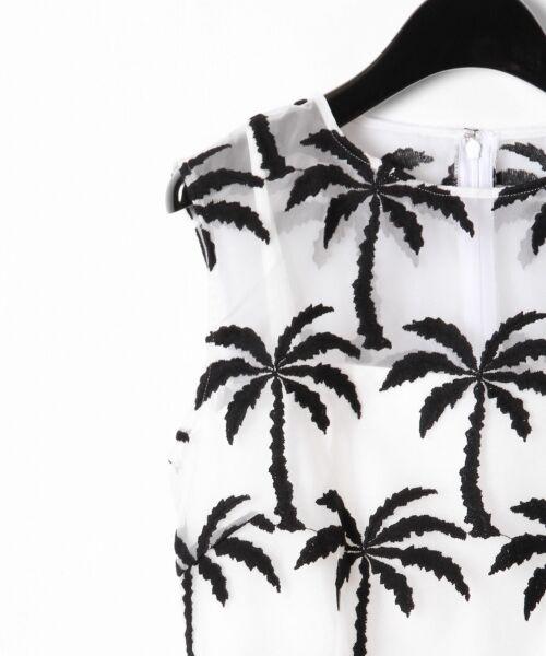 GRACE CONTINENTAL / グレースコンチネンタル ドレス | Palm tree ドレス | 詳細5
