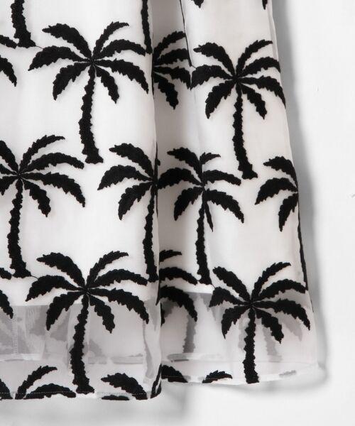 GRACE CONTINENTAL / グレースコンチネンタル ドレス | Palm tree ドレス | 詳細7