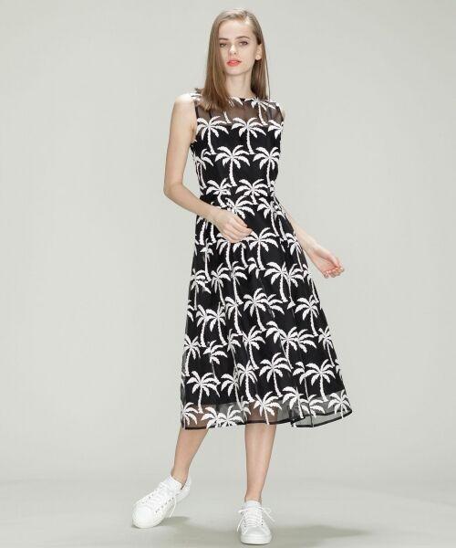 GRACE CONTINENTAL / グレースコンチネンタル ドレス | Palm tree ドレス | 詳細10