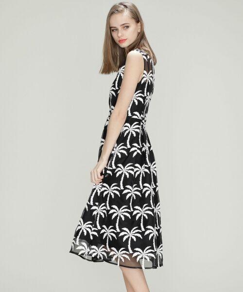 GRACE CONTINENTAL / グレースコンチネンタル ドレス | Palm tree ドレス | 詳細11
