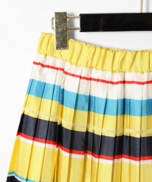 GRACE CONTINENTAL / グレースコンチネンタル ミニ・ひざ丈スカート | ボーダープリントスカート | 詳細16
