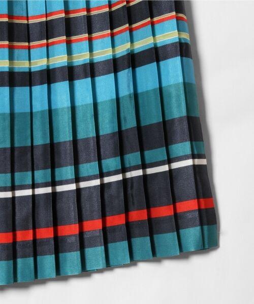 GRACE CONTINENTAL / グレースコンチネンタル ミニ・ひざ丈スカート | ボーダープリントスカート | 詳細19