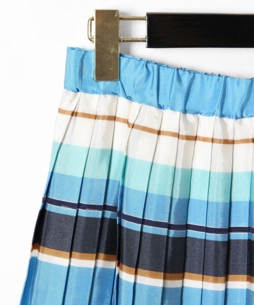GRACE CONTINENTAL / グレースコンチネンタル ミニ・ひざ丈スカート | ボーダープリントスカート | 詳細28