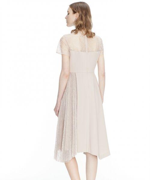 GRACE CONTINENTAL / グレースコンチネンタル ドレス | レースプリーツ切替ワンピース | 詳細3