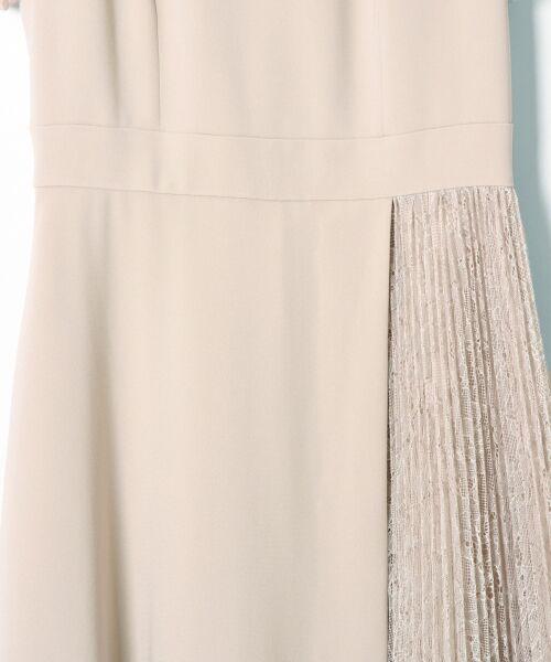 GRACE CONTINENTAL / グレースコンチネンタル ドレス | レースプリーツ切替ワンピース | 詳細7