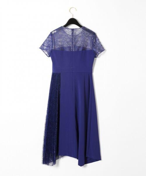 GRACE CONTINENTAL / グレースコンチネンタル ドレス | レースプリーツ切替ワンピース | 詳細13