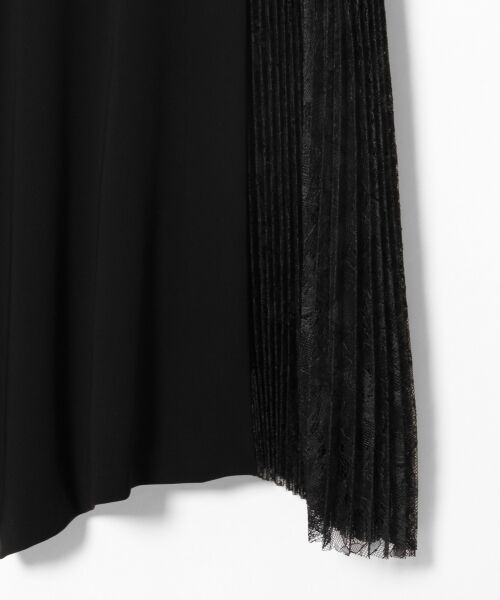 GRACE CONTINENTAL / グレースコンチネンタル ドレス | レースプリーツ切替ワンピース | 詳細17