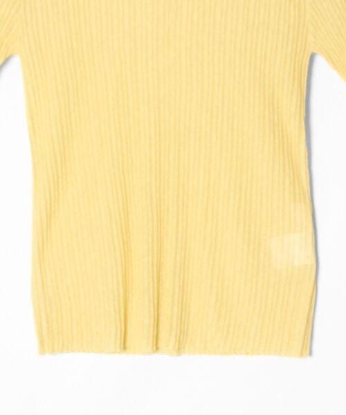 GRACE CONTINENTAL / グレースコンチネンタル ニット・セーター | シアーリブニットトップ | 詳細16