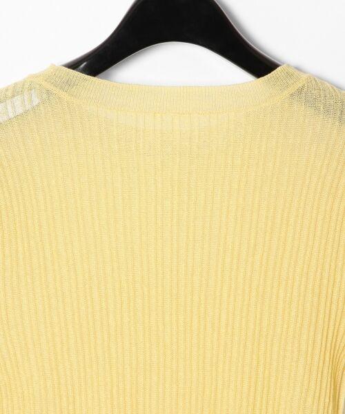 GRACE CONTINENTAL / グレースコンチネンタル ニット・セーター | シアーリブニットトップ | 詳細18