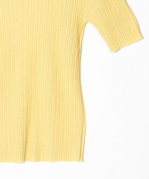 GRACE CONTINENTAL / グレースコンチネンタル ニット・セーター | シアーリブニットトップ | 詳細19