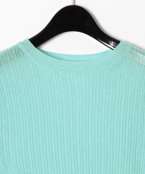GRACE CONTINENTAL / グレースコンチネンタル ニット・セーター | シアーリブニットトップ | 詳細20