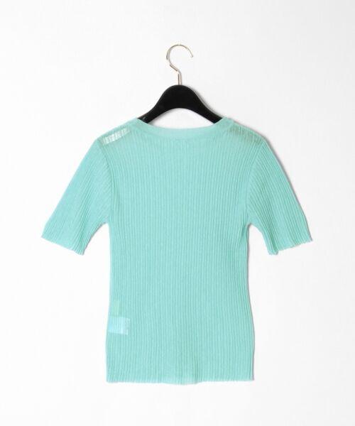 GRACE CONTINENTAL / グレースコンチネンタル ニット・セーター | シアーリブニットトップ | 詳細23