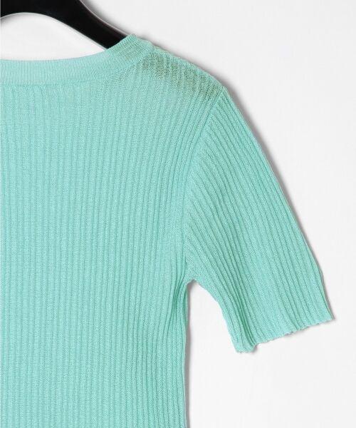 GRACE CONTINENTAL / グレースコンチネンタル ニット・セーター | シアーリブニットトップ | 詳細24