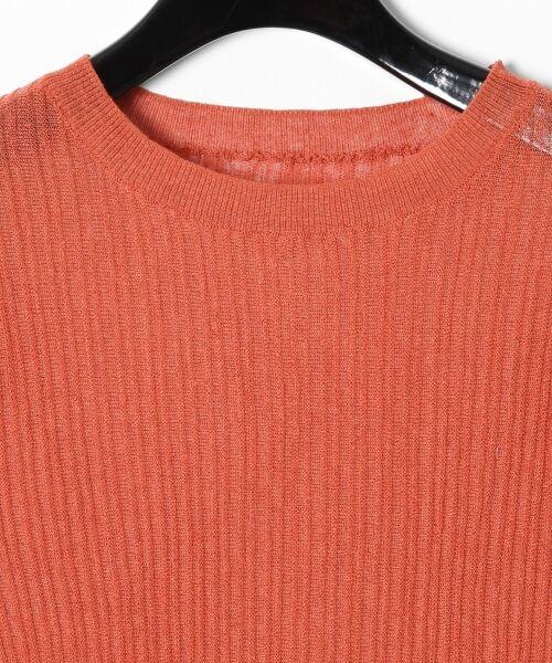 GRACE CONTINENTAL / グレースコンチネンタル ニット・セーター | シアーリブニットトップ | 詳細26