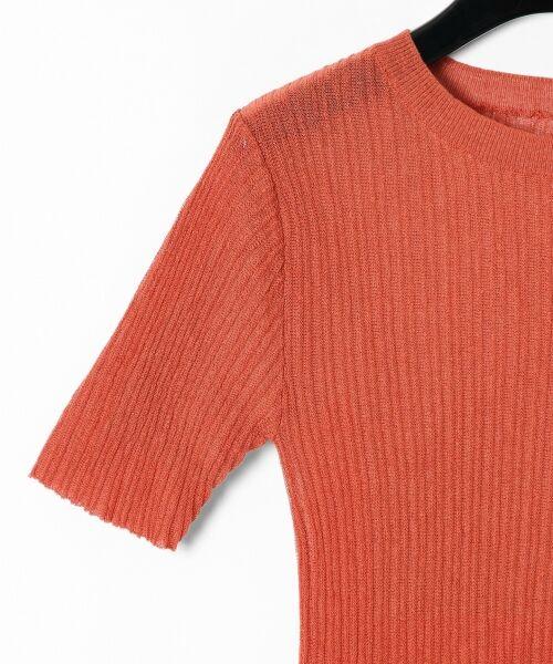 GRACE CONTINENTAL / グレースコンチネンタル ニット・セーター | シアーリブニットトップ | 詳細27
