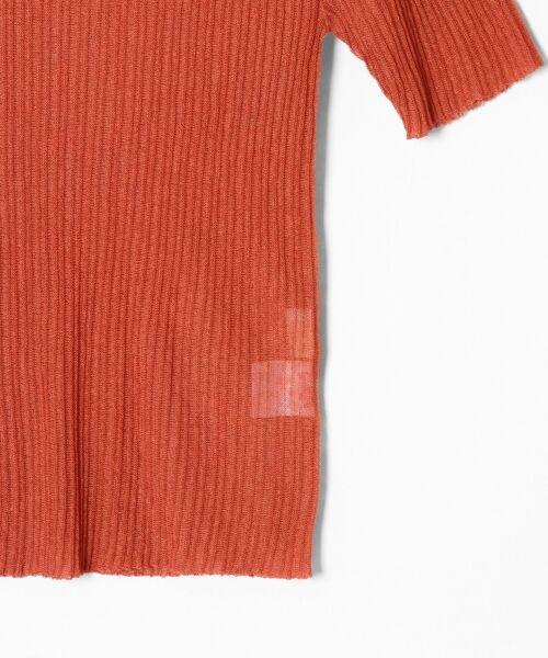 GRACE CONTINENTAL / グレースコンチネンタル ニット・セーター | シアーリブニットトップ | 詳細28