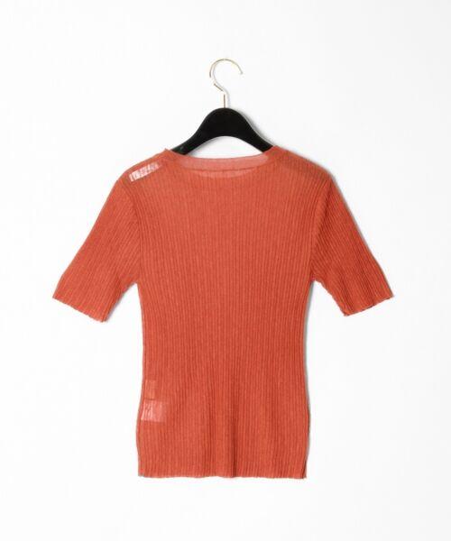 GRACE CONTINENTAL / グレースコンチネンタル ニット・セーター | シアーリブニットトップ | 詳細29