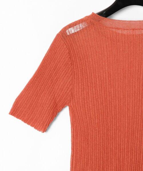 GRACE CONTINENTAL / グレースコンチネンタル ニット・セーター | シアーリブニットトップ | 詳細30