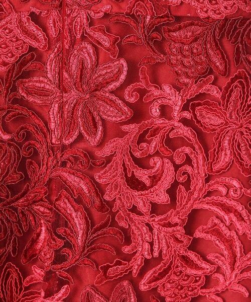 GRACE CONTINENTAL / グレースコンチネンタル ドレス | チュール刺繍フレアワンピース | 詳細11