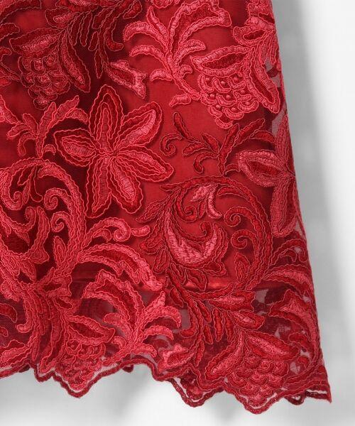 GRACE CONTINENTAL / グレースコンチネンタル ドレス | チュール刺繍フレアワンピース | 詳細6