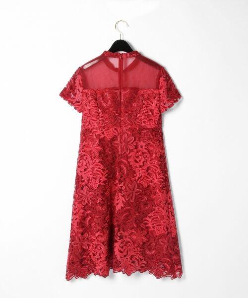 GRACE CONTINENTAL / グレースコンチネンタル ドレス | チュール刺繍フレアワンピース | 詳細8