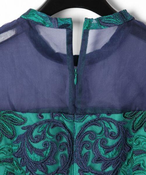 GRACE CONTINENTAL / グレースコンチネンタル ドレス | チュール刺繍フレアワンピース | 詳細18