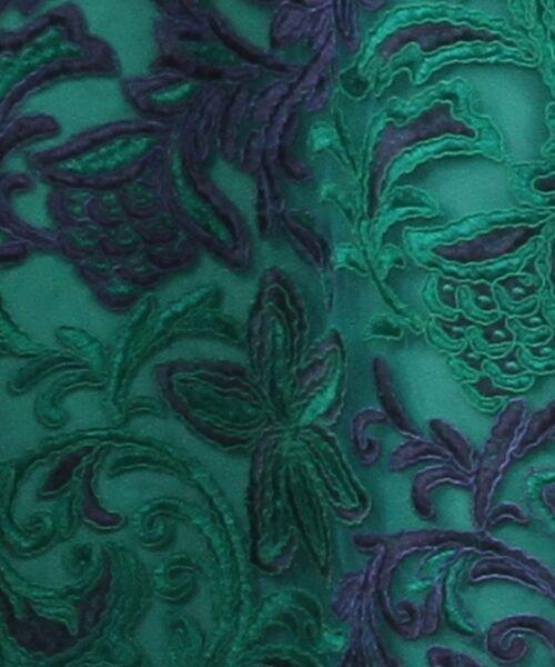 GRACE CONTINENTAL / グレースコンチネンタル ドレス | チュール刺繍フレアワンピース | 詳細19