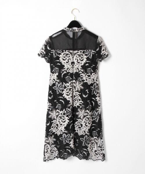GRACE CONTINENTAL / グレースコンチネンタル ドレス | チュール刺繍フレアワンピース | 詳細23