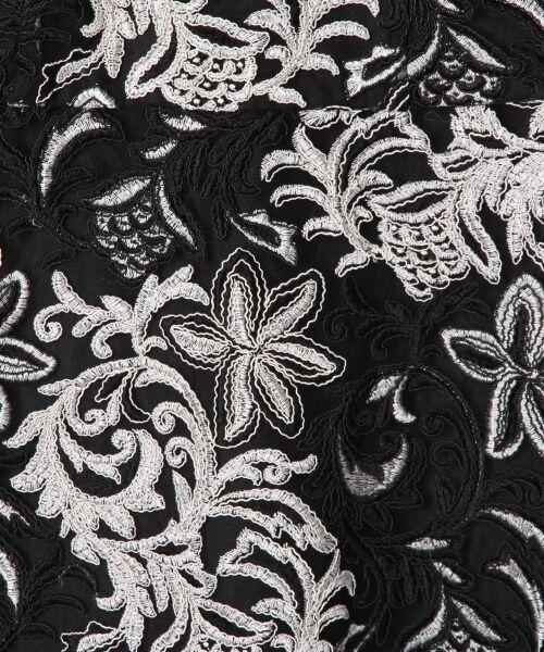 GRACE CONTINENTAL / グレースコンチネンタル ドレス | チュール刺繍フレアワンピース | 詳細27