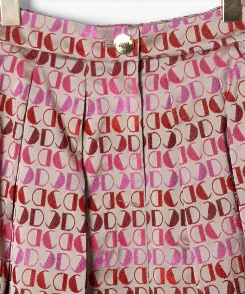 GRACE CONTINENTAL / グレースコンチネンタル ミニ・ひざ丈スカート | モノグラムジャガードスカート | 詳細5