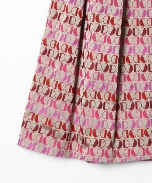 GRACE CONTINENTAL / グレースコンチネンタル ミニ・ひざ丈スカート | モノグラムジャガードスカート | 詳細6