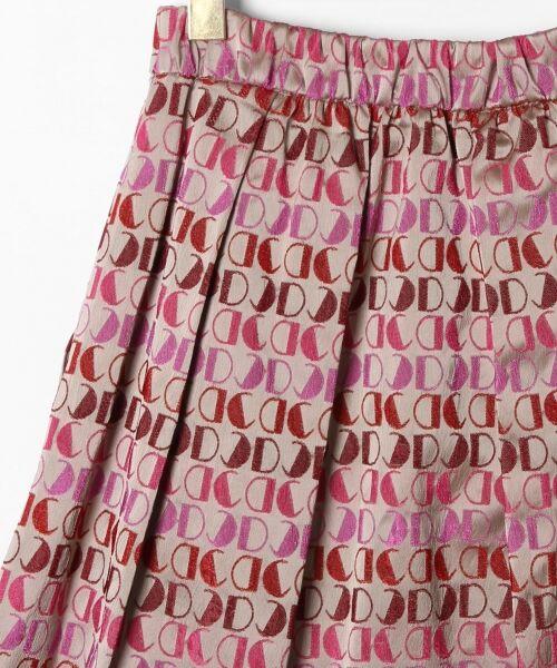 GRACE CONTINENTAL / グレースコンチネンタル ミニ・ひざ丈スカート | モノグラムジャガードスカート | 詳細9