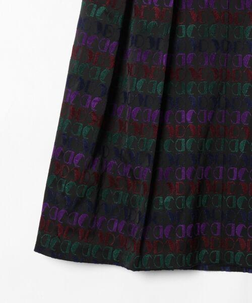 GRACE CONTINENTAL / グレースコンチネンタル ミニ・ひざ丈スカート | モノグラムジャガードスカート | 詳細16