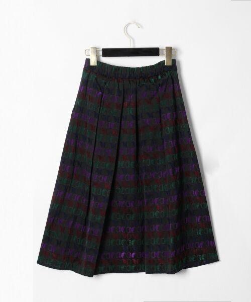 GRACE CONTINENTAL / グレースコンチネンタル ミニ・ひざ丈スカート | モノグラムジャガードスカート | 詳細17