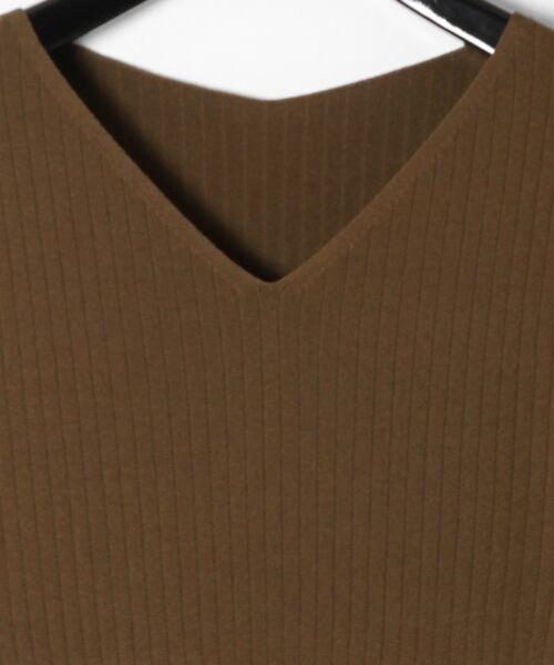 GRACE CONTINENTAL / グレースコンチネンタル ミニ丈・ひざ丈ワンピース | 配色プリーツニットワンピース | 詳細15