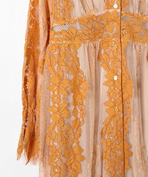 GRACE CONTINENTAL / グレースコンチネンタル ドレス | コードレースロングワンピース | 詳細2