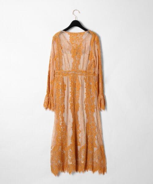 GRACE CONTINENTAL / グレースコンチネンタル ドレス | コードレースロングワンピース | 詳細5