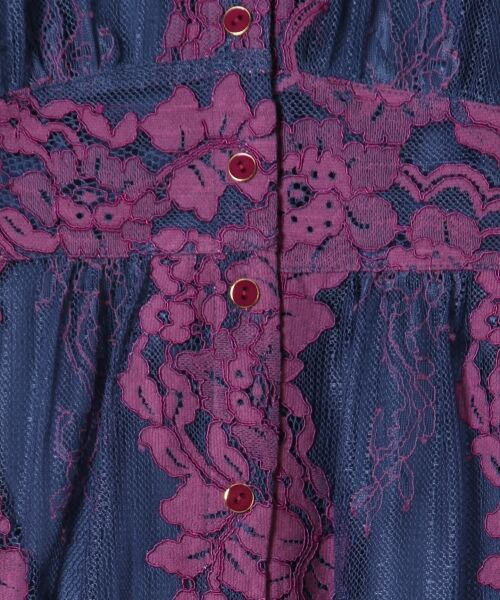 GRACE CONTINENTAL / グレースコンチネンタル ドレス | コードレースロングワンピース | 詳細8