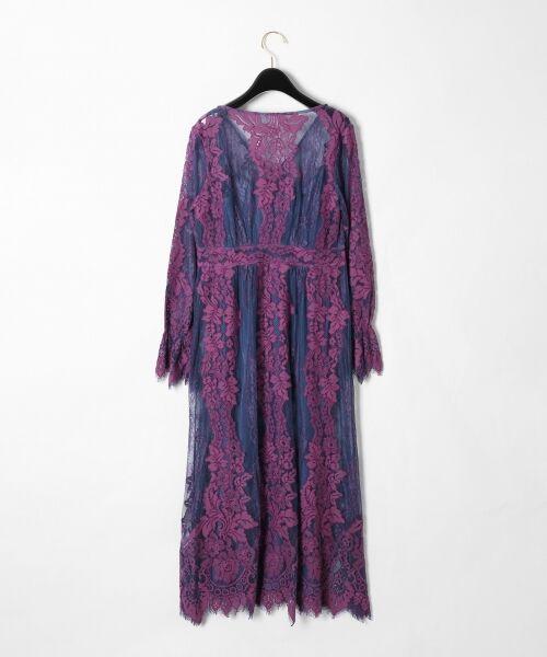 GRACE CONTINENTAL / グレースコンチネンタル ドレス | コードレースロングワンピース | 詳細9