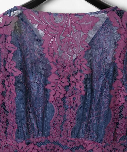 GRACE CONTINENTAL / グレースコンチネンタル ドレス | コードレースロングワンピース | 詳細10