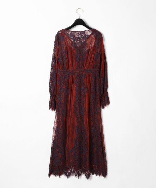 GRACE CONTINENTAL / グレースコンチネンタル ドレス | コードレースロングワンピース | 詳細19