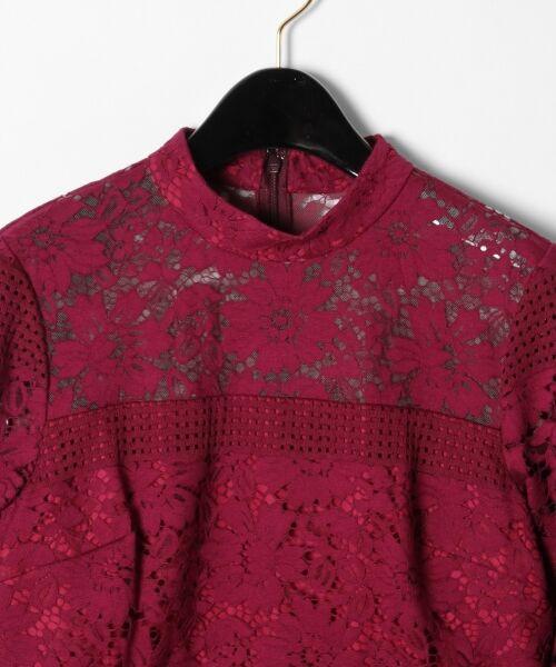GRACE CONTINENTAL / グレースコンチネンタル ドレス | ハイネックレースワンピース | 詳細1
